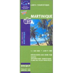 Carte Routiere Martinique